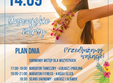 Hawajskie Party – 1. urodziny klubu